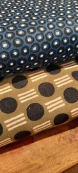 Art Gallery: dunkelblau mit kleinen Muster (Bild oben)