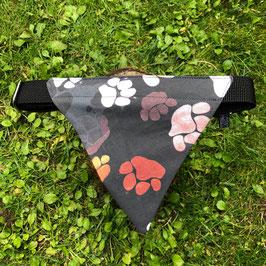"""Dreieckstuch Hundehalsband """"Pfoten"""""""