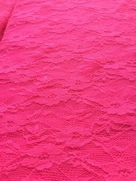 Spitze Twins Neon-Rosa bi-elastisch