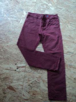 181 Weinrote Jeans von Y.F.K Gr. 158