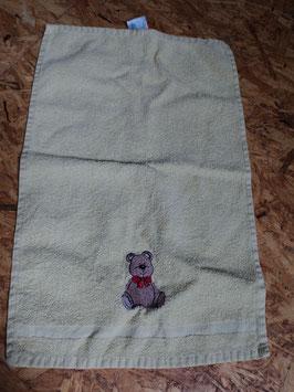 AL-230 Handtuch klein gelb mit Bärchen von MY TOYS