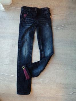 Y-45 Jeans dunkelblau-pinke Absetzungen von ESPRIT Gr.122