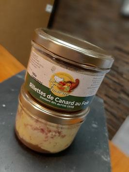 Rillette de Canard au Foie - 180g