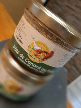 Paté de canard au foie gras