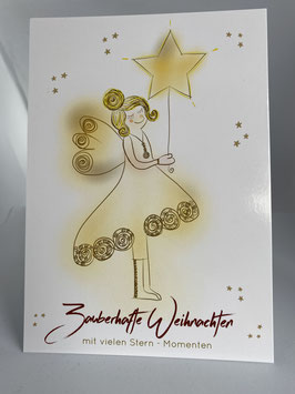 Postkarte Zauberhafte Weihnachten