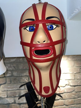 TV Caged Inflatable Mask MK5