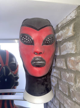 Alien Mask with perforated eyes / Size M