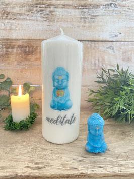 Like030AKerzen für Meditation & Yoga Little Buddha verschiedene Farben