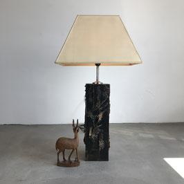 Sculptural Brutalist Floor/ Table Lamp, 1960s
