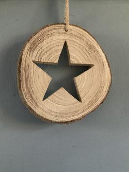 Baumscheibe Stern