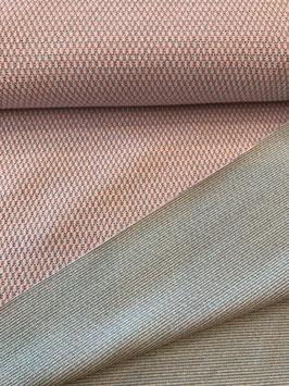 Strick Jersey - rosa/mint