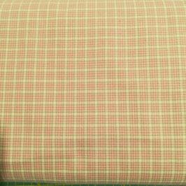 Baby - Cotone scozzese rosa antico e tortora