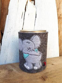 Spardose Elefant mit Halstuch