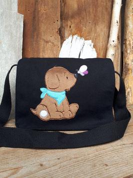 Kindergartentasche/ Umhängetasche Hund