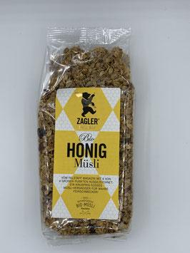 Bio-Honigmüsli 500g - Zagler Bio GmbH
