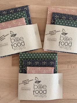 Bee Food Wraps - Starter Set MIX IT (GOTS)