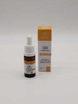 Vitadol Gold - 10%/27% Vollspektrum-Öl