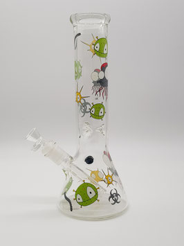 Black Leaf Beaker Haze Invaders