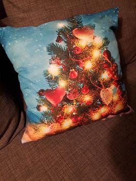 Housse de coussin Sapin de Noël