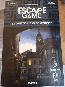 ESCAPE GAME ENQUETE à BAKER STREET