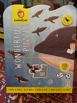 LE MONDE DE GLACE Puzzle 5 ans