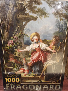 Puzzle 1000 Pièces Fragonard - Le Colin Maillard