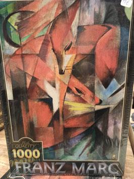 Puzzle 1000 Pièces Franz Marc - Renards
