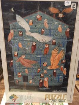 Puzzle 1000 Pièces Andrea Kurtis Owl Tales 2