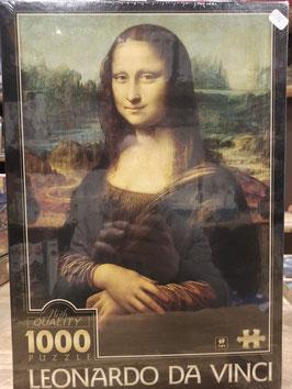 Puzzle 1000 Pièces Leonard de Vinci - La Joconde