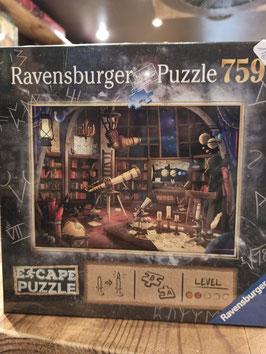Escape Puzzle 759 Pièces - Le Laboratoire Astronomique