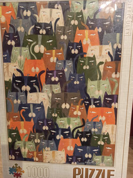 Puzzle Cats by Andrea Kurtis