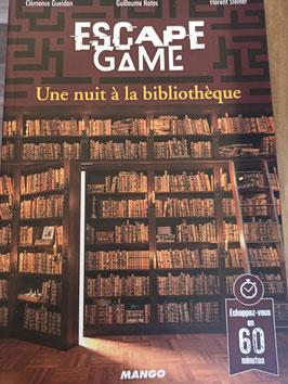 ESCAPE GAME : UNE NUIT A LA BIBLIOTHEQUE