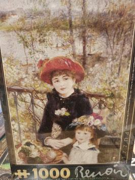 Puzzle 1000 Pièces Renoir - Sur La Terrasse