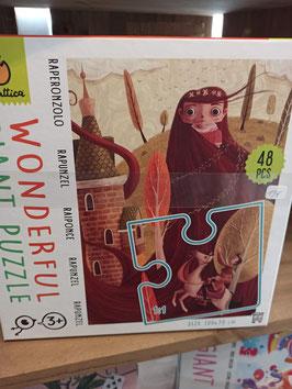 RAIPONCE puzzle 3ans