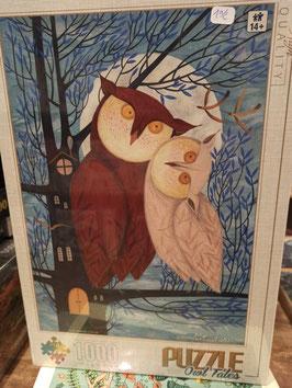 Puzzle 1000 Pièces Owls Tale