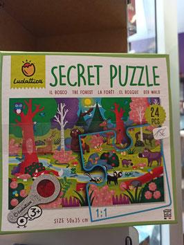 SECRET  PUZZLE - LA FORET 3ans