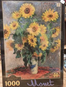 Puzzle 1000 Pièces Monet - Bouquet de Tournesol
