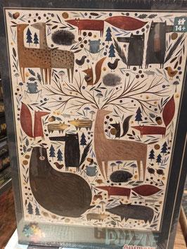 Puzzle 500 Pièces Andrea Kurtis - Wild Animals