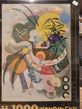 Puzzle 1000 Pièces Kandinsky - Courbes Dominantes