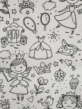 Trousse à colorier Titoudou Princesse