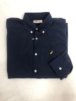 Camisa azul marino la ormiga