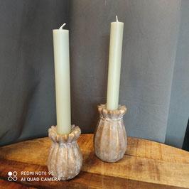 Kerzenständer Mohnkapsel gold