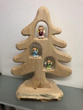 Zirbenbaum mit bunte Engel