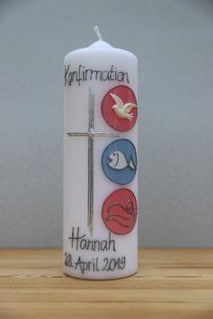 Konfirmations-Kerze Hannah (Kommunion)