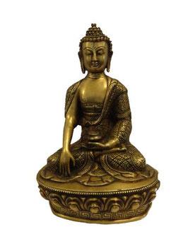 Statue géant en laiton: Buddha assis