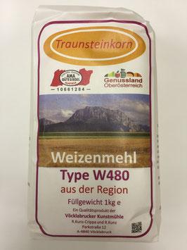 1 Kg Mehl aus der Region