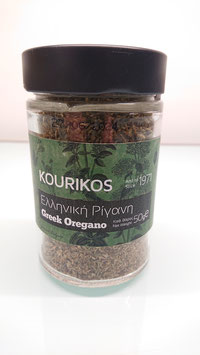 KOURIKOS Greek Oregano 50gr glass jar