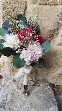 Réplica de ramo de flores