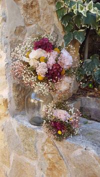 Ramo de novia flor preservada 10