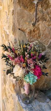 Ramo novia flor preservada 13
